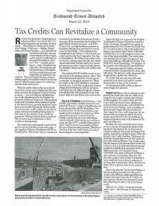 Tax Credits Article - RTD